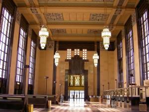 photograph, Union Passenger Terminal, Omaha